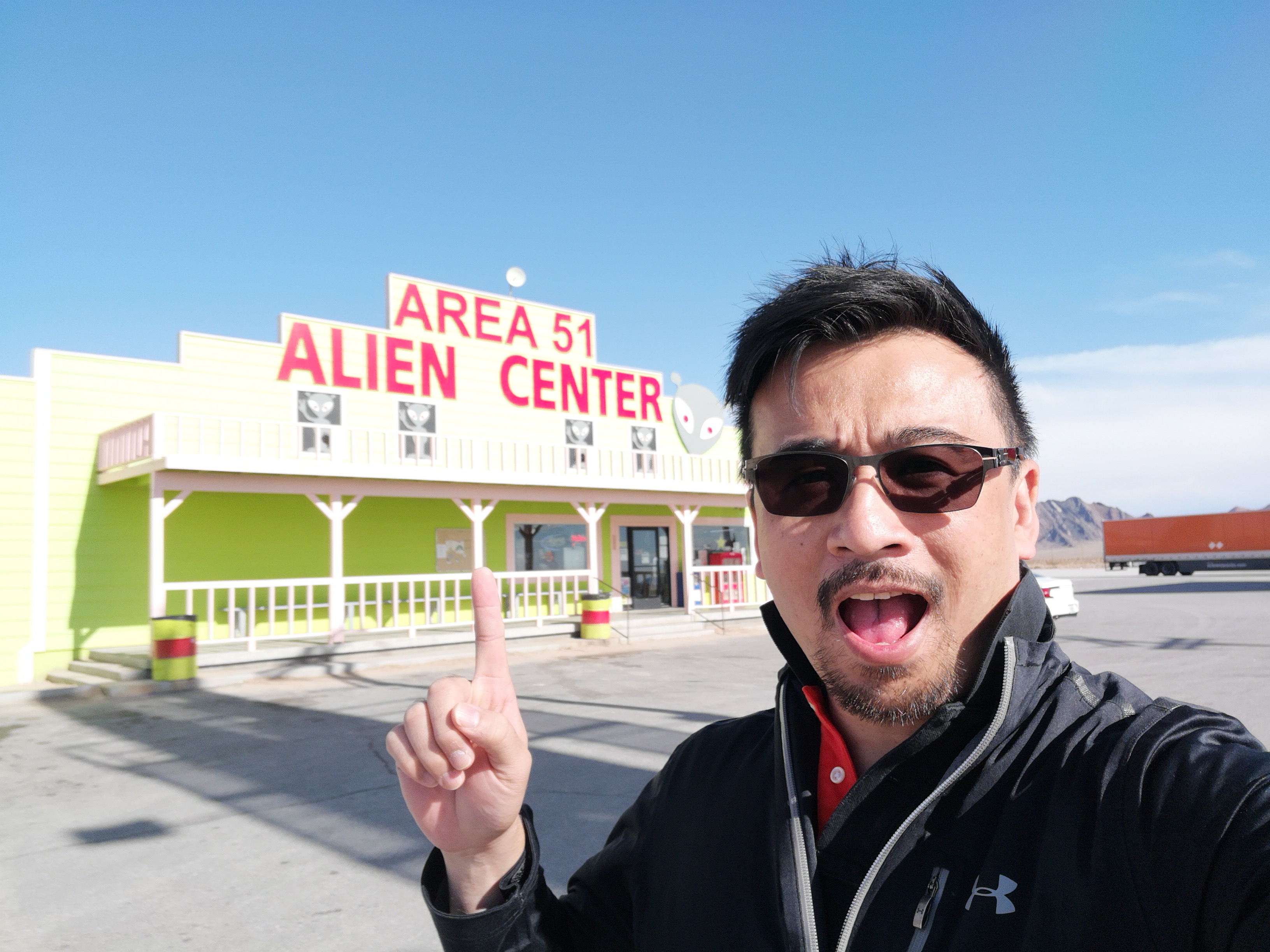 An eventful road trip – Lost car, Area 51 and sliding down the world's tallest glass slide